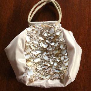 Ann Taylor beaded evening bag never worn